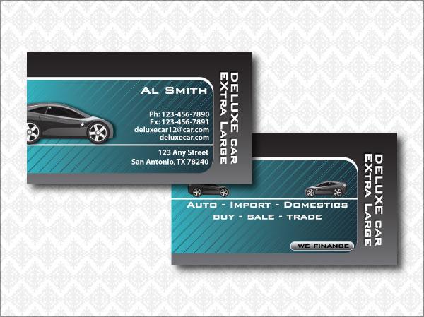 Auto Cards