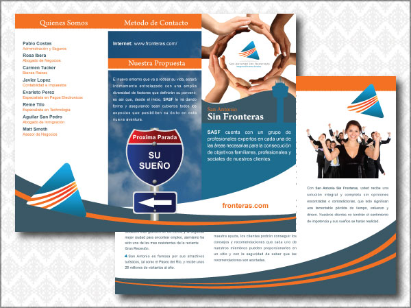 Professional Organization Brochure